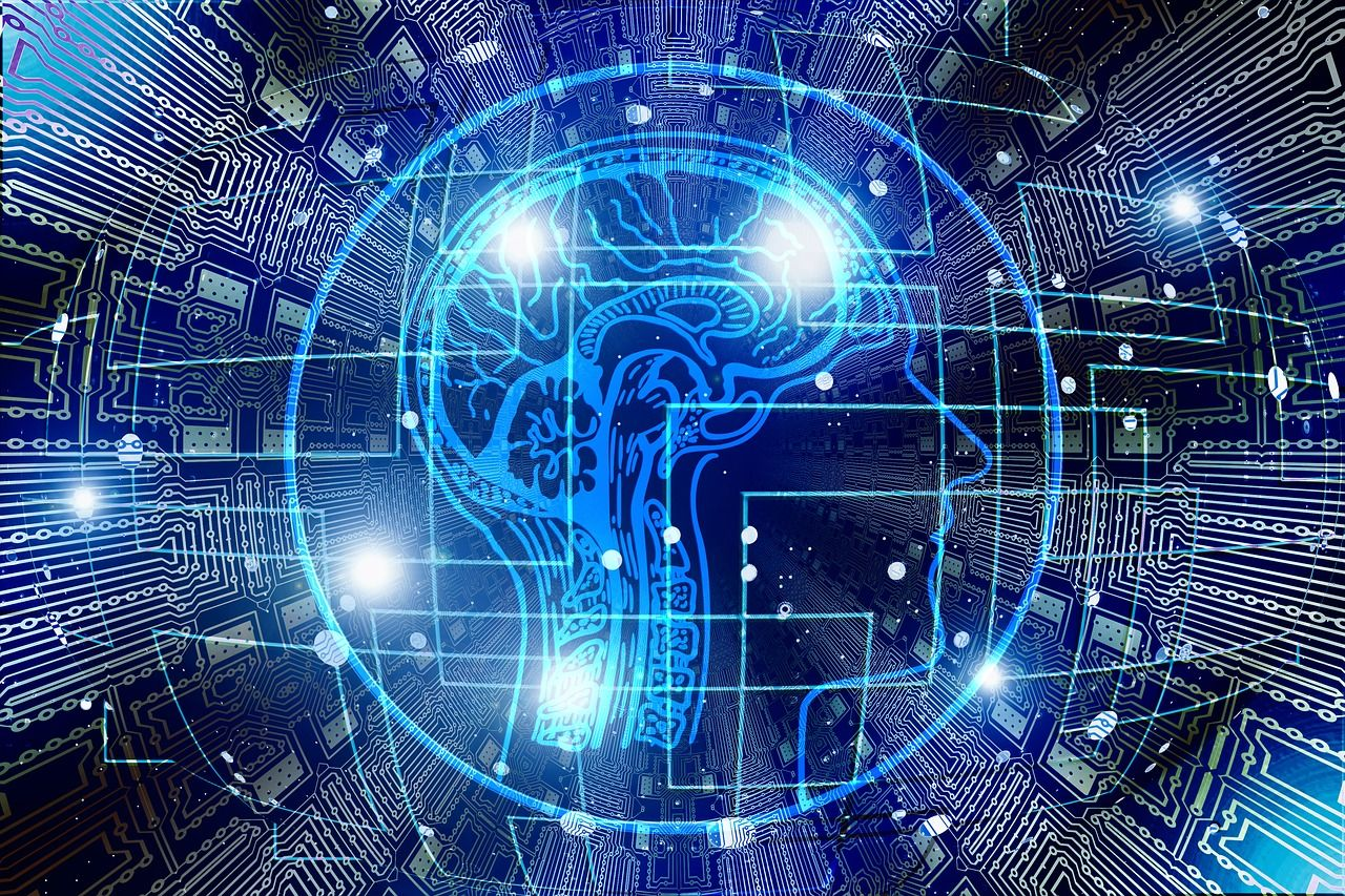 artificial intelligence, brain, think